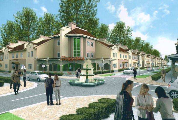 Проект таун-хаусов в г.Лосино-Петровский