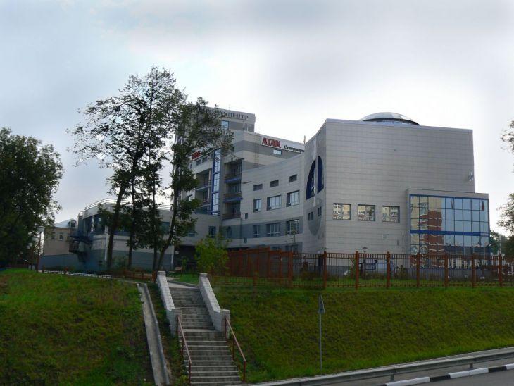 Бизнес-Центр с отделением банка