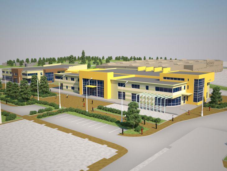 """Проект гипермаркета строительных материалов """"Castorama"""""""