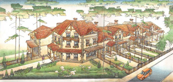 Малоэтажное жилое строительство в г.Лосино-Петровский