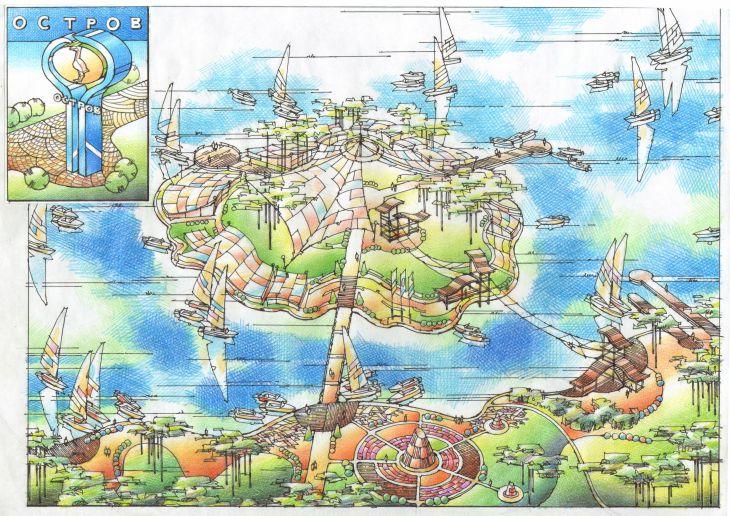 Генеральный план территории вокруг оз.Большое, г.Фрязино