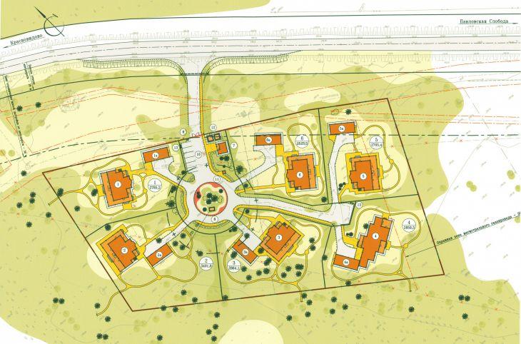 Проект планировки территории под дачное строительство в д.Борзые