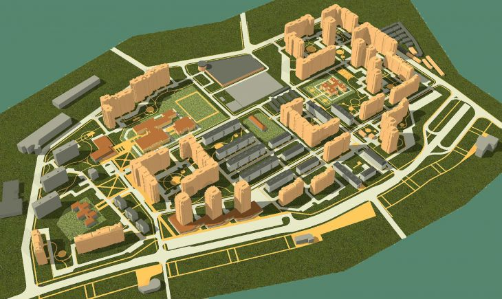 Проект планировки и застройки квартала Жегалово в г.Щелково