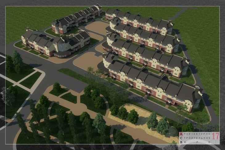 Проект малоэтажных блокированных домов, г.Сергиев Посад
