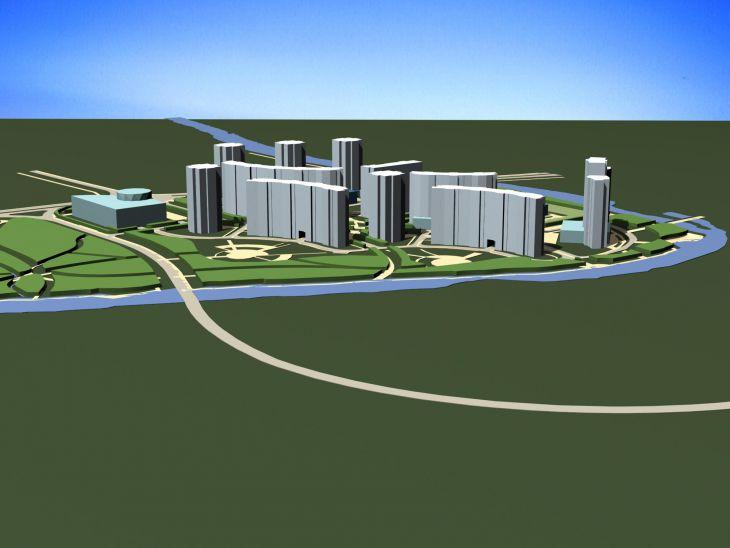 Генеральный план квартала Соболевка
